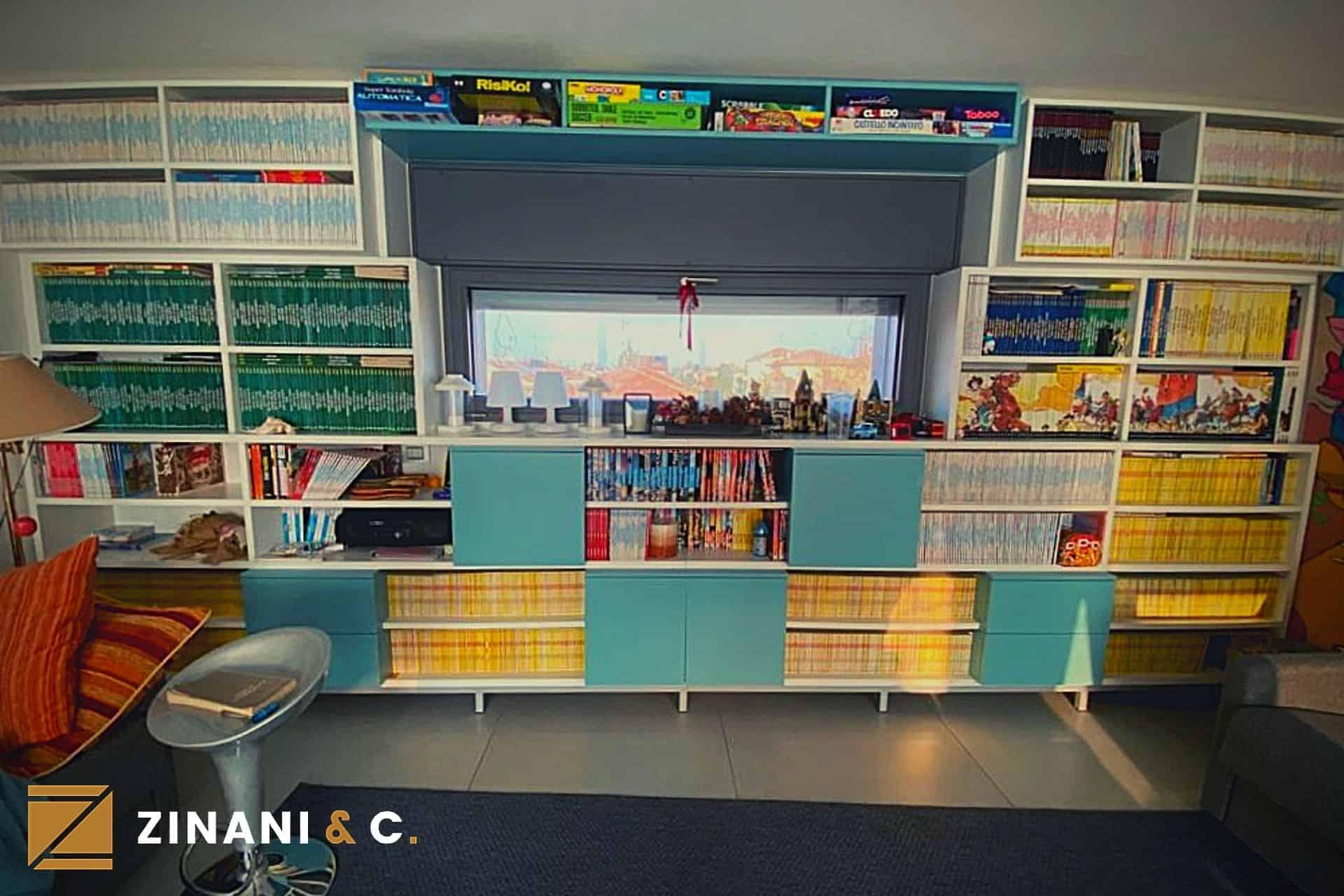 Libreria su misura: la perfetta disposizione per i tuoi libri