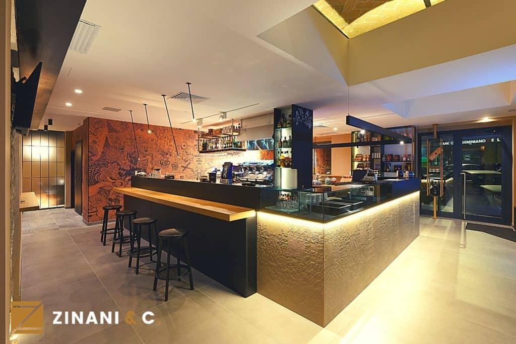Bar Con Sala Degustazione Moderno E Antico Si Incontrano