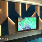 Mobile tv in due colori: eleganza e luce per il tuo soggiorno