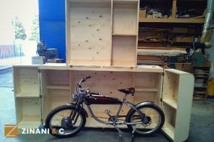 Baule per bici elettrica: usa il legno per proteggere i tuoi oggetti di valore